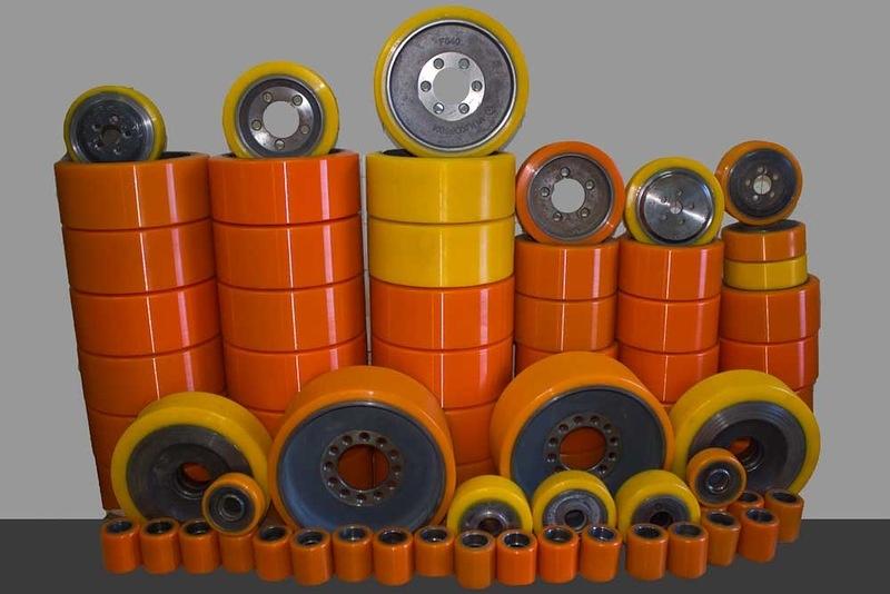 Полиуретан для колес и роликов