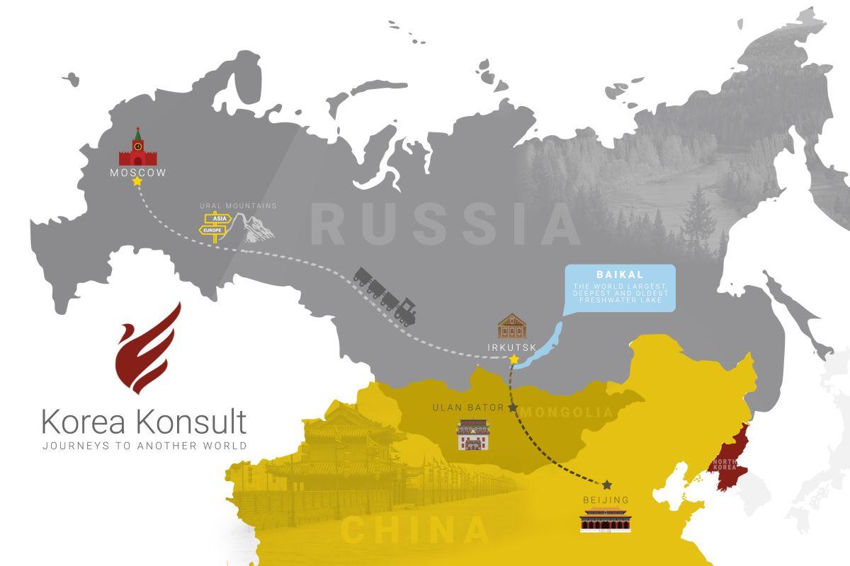 Moscow Beijing Trans Mongolian Classic Tour