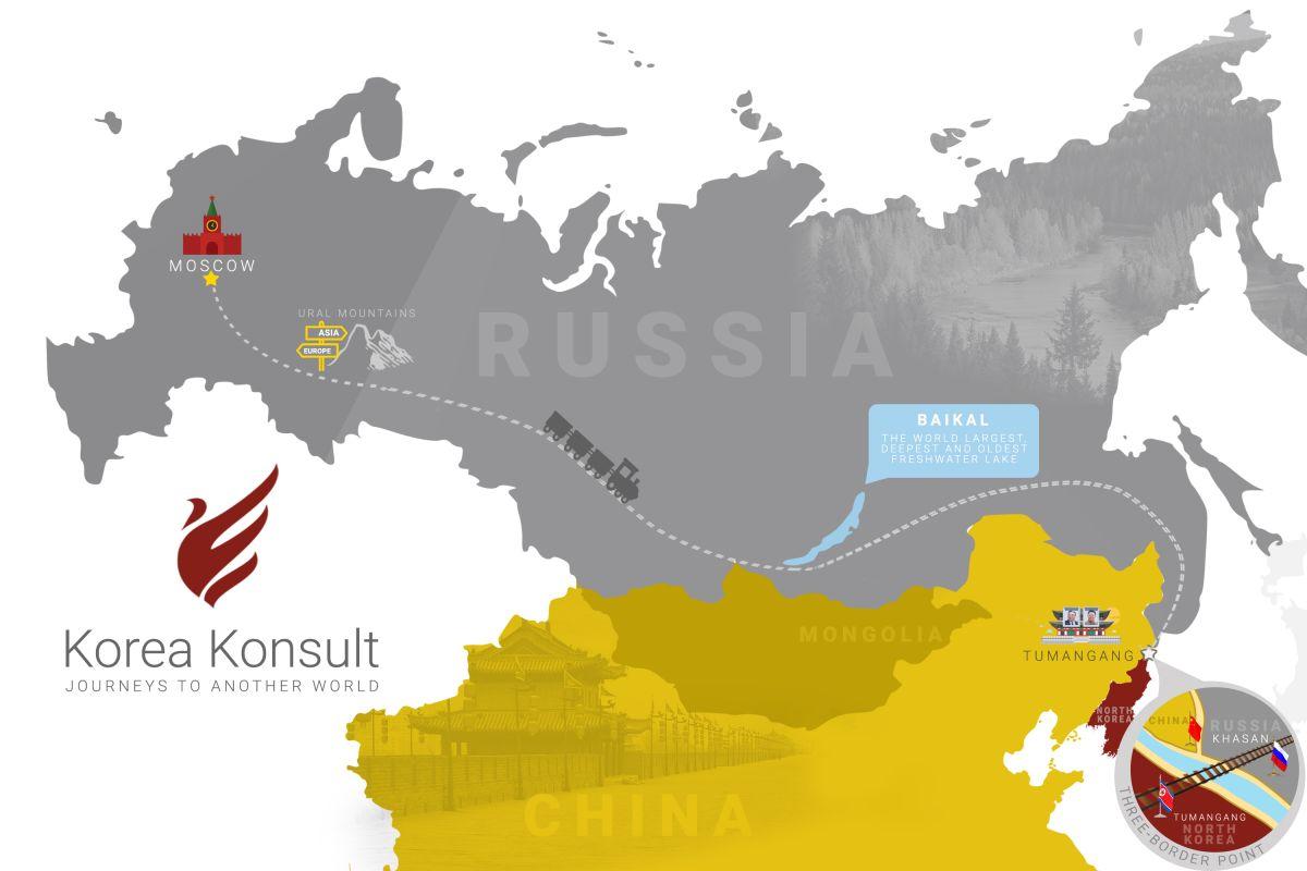 Short Tumangang-Moscow Trans-Siberian Tour