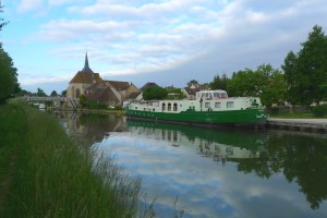 Montbouy on the Canal deBriare, upper Loire region