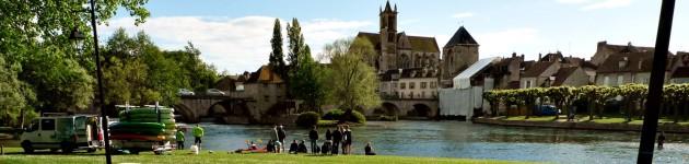 Impressionist village Moret sur Loing
