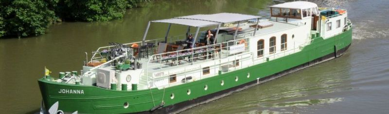 Johanna canal and river cruises