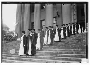 Graduation at Barnard College - 1913