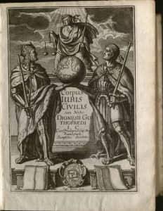 Corpus Iuris Civilis 1663
