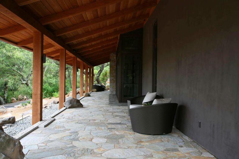 porch at Brand Vineyards