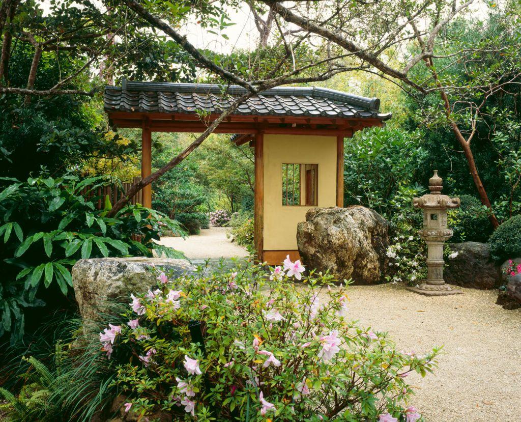 gate at Morikami Museum