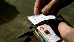 Tunnusluku lompakossa