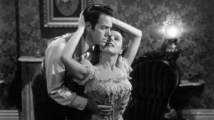 Louis Hayward ja Jane Wyman elokuvassa Talo joen rannalla