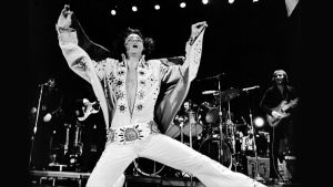 Elvis Presley konsertissa vuonna 1972