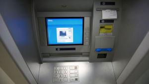 pankkiautomaatti, yle tv1