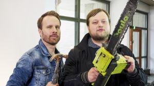 Kuvassa Lauri Maijala ja Mikko Kekäläinen