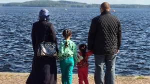 syrier, flyktingar