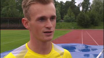 Vasa IS stavhoppare Viktor Östman visar god form tidigt på säsongen. På fredagskvällen gick 20-åringen över nya personliga rekordhöjden 524 i Tyskland. - 14-svyle-136364531974b6a7cc0