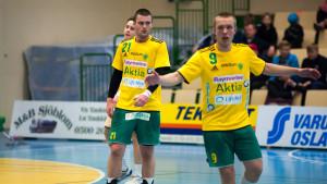 Alexander Holmberg och Gustav Svanbäck, Sjundeå IF