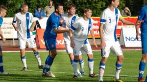 Benjamin Källman och William Lindqvist var med och mötte Slovakien i landskampen.
