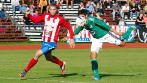 Målkungen Casper Källberg gjorde inte sitt livs match på söndagen.