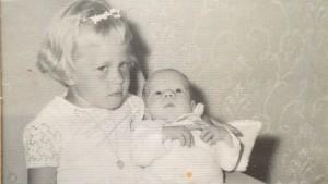 Ann-Sophie Sandström och Peter Sandström år1963