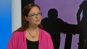Jannika Elfving pratar om sextrakasserier bland unga.