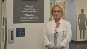 Överläkare Karolina Lönnberg
