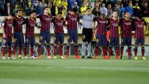 Barcelonaspelarna hedrar Vilanova