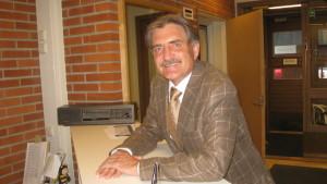 Fred Sundwall är generalsekreterare i Finlands Ryttarförbund