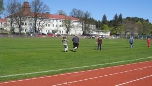 Elever på Centrumplan i Ekenäs.
