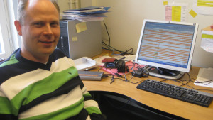 Specialforskare Markus Öst på Aronia är specialist på ejdrar.
