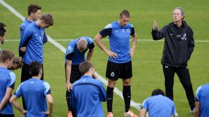 Michel Preud'homme leder Brugge i Europa League.