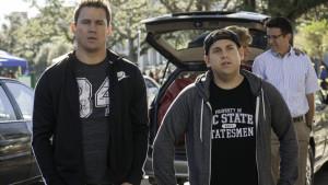 Channing Tatum och Jonah Hill i 22 Jump Street