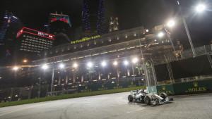 Lewis Hamilton i Singapore 2014