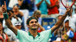 Roger Federer Cincinnati 2014