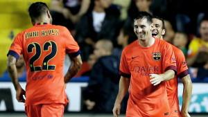Leo Messi gjorde mål mot Levante 21.9.2014.
