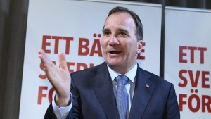 De svenska socialdemokraternas ledare Stefan Löfven.
