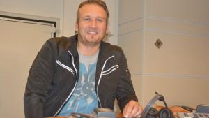 Conny Karlsson är sportsnackare i Yle Västnyland