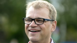 Centerns partiordförande Juha Sipilä.