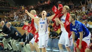 Finland, Bilbao, VM. Basket