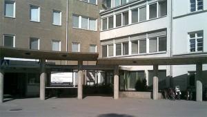 Malms sjukhus.