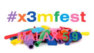 #x3mfest kommer till Malax den femte september.
