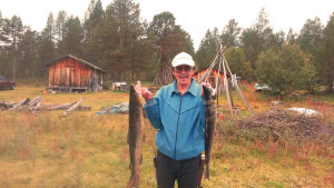 Esko Aikio, född och uppvuxen i Utsjoki