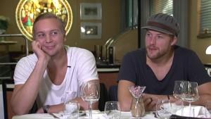 Johan Harju och Linus Omark