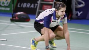 Carolina Marín vann ett sensationellt guld i VM i badminton 2014 i Köpenhamn.