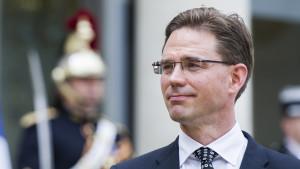 Samlingspartiets ordförande Jyrki Katainen.