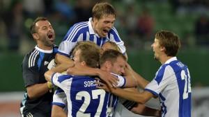 Rapid Wien - HJK 28.8.2014