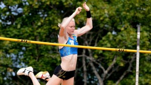 Minna Nikkanen i Kalevaspelen 2014