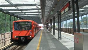 Brändö metrostation i Helsingfors i juni 2011
