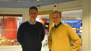 Alexander Lång och Ole Karlsson.