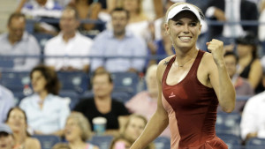 Caroline Wozniacki i US Open 2014.