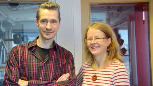 Janne Engblom och Carina Gräsbeck
