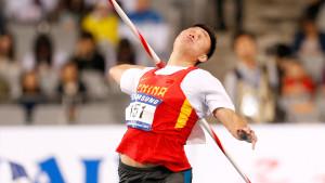 friidrott, spjut, Zhao Qinggang