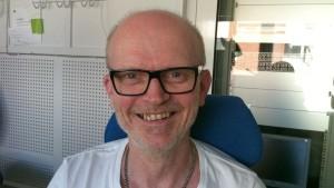 Mats Sabel är körgare i Vasa
